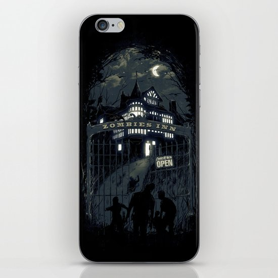 Zombies Inn iPhone & iPod Skin