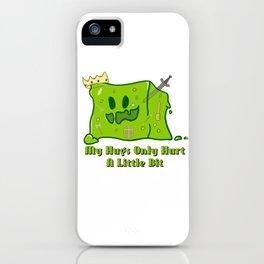 Cute King Slime iPhone Case
