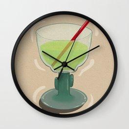 Margarita Glass Wall Clock
