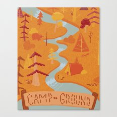 camp grounds Canvas Print