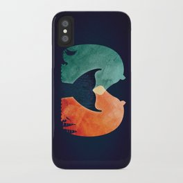 A Tail of Two Horses iPhone Case