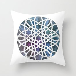 Galaxy Cutout Throw Pillow
