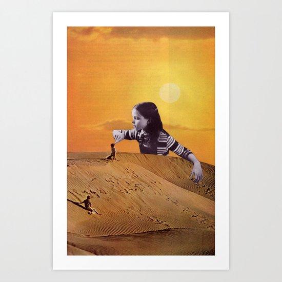 poke poke Art Print