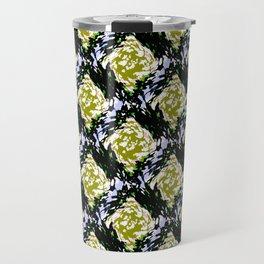 Light Beam Pattern Travel Mug