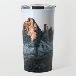 Dolomites sunset panorama - Landscape Photography Travel Mug