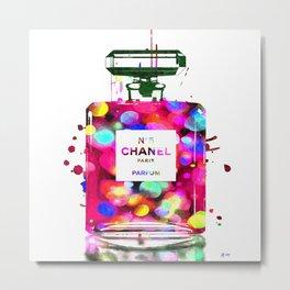No 5 Parfum Metal Print