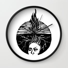 Child of the Earth Wall Clock