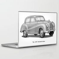 austin Laptop & iPad Skins featuring Austin A70 by Noughton
