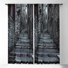 Streets of Cinque Terre Blackout Curtain