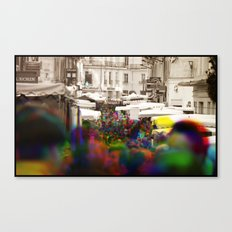Sequential Serie : On the Street Canvas Print