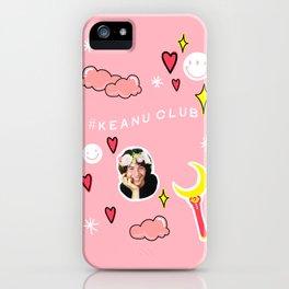 KEANU CLUB DOODLE iPhone Case