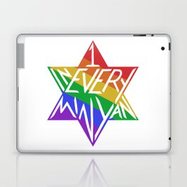 one in every minyan Laptop & iPad Skin