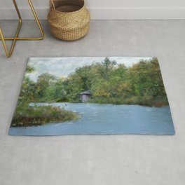 Secluded in Cape Cod Rug
