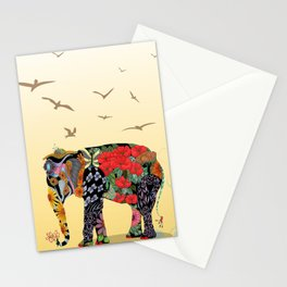 Ms. Ele Phant Stationery Cards