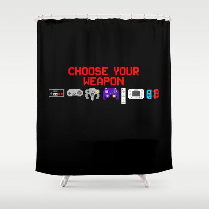 Don't Lose Control Shower Curtain