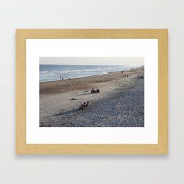 Sitting Out Framed Art Print