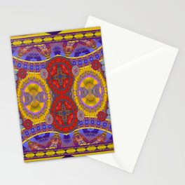 Mystical Magic Circus Abstract Print Stationery Cards