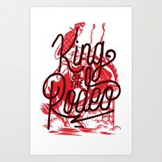 King Of The Rodeo Art Print