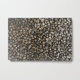 Coffee beans in Colombia Metal Print