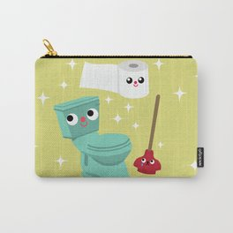 In The Bathroom Carry-All Pouch