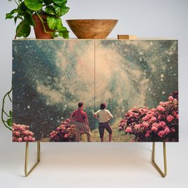 There will be Light in the End Credenza