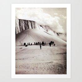 Niagara falls 4 Art Print
