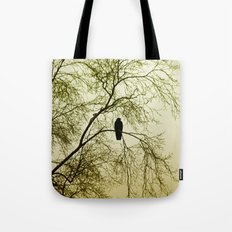 The Sentinal ~ Abstract Tote Bag