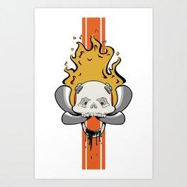 The Enron Reaper Art Print