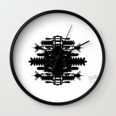 A Template for Your Imagination Wall Clock