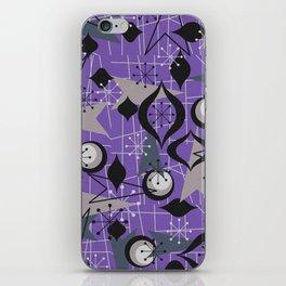 Mid Century Atomic Arrow Patterns iPhone Skin