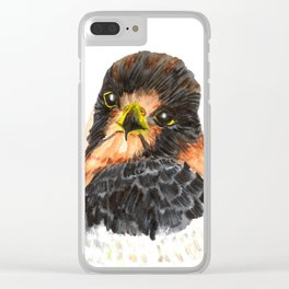 Glamour Falcon Clear iPhone Case