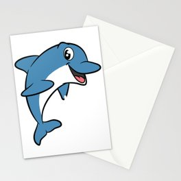 Love dolphins, I love dolphins T-shirt Dolphin are the animals, the mammals. Love Dolphins Stationery Cards
