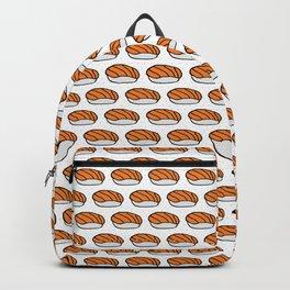 Salmon Sushi Pattern Backpack