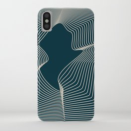 Blend Navy iPhone Case