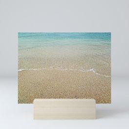 Sandy Beach View Mini Art Print