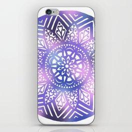 Dreamscape Mandala - LaurensColour iPhone Skin