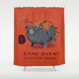 ganon Shower Curtain