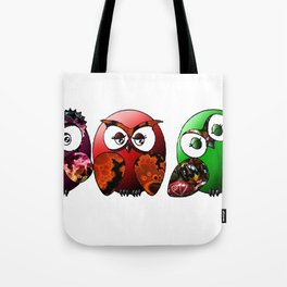 Owls Family Tote Bag