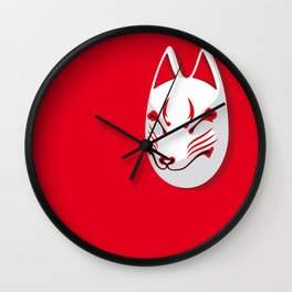 Japan Serie 3 - KITSUNE Wall Clock