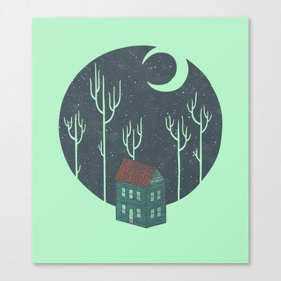 At Night Canvas Print