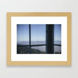 Window Up High Framed Art Print