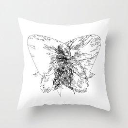 INSOMNI△C Throw Pillow