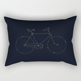 Bike Constellation Rectangular Pillow