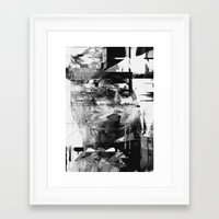 kurt rahn Framed Art Prints featuring Kurt by nicebleed