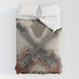SG Rocks (Gibson SG) Comforters