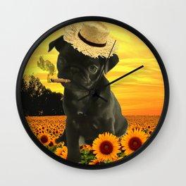 SunPug Wall Clock