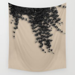 Art With Ivy Wall Tapestry