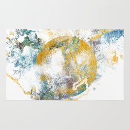 Nature's Call - Abstract Painting III Rug