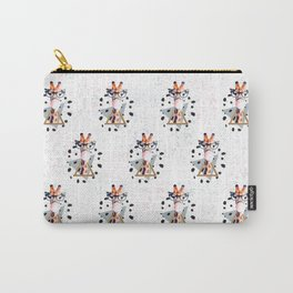 Pattern Girafee Carry-All Pouch