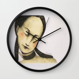 I do not wear necklaces Wall Clock